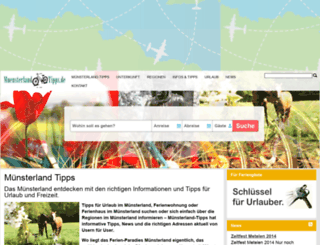 muensterland-tipps.de screenshot