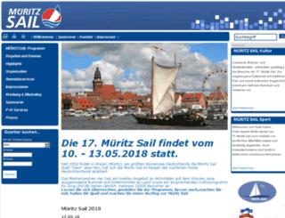 mueritzsail.net screenshot