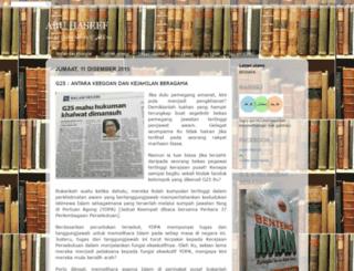 mufakkir-islami.blogspot.com screenshot