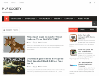 mufsociety.net screenshot