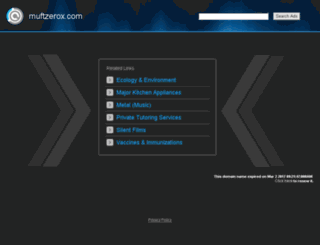 muftzerox.com screenshot