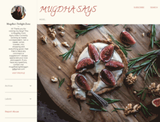 mugdhasays.blogspot.in screenshot