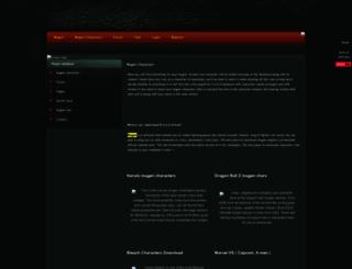 mugencharacters.ucoz.com screenshot