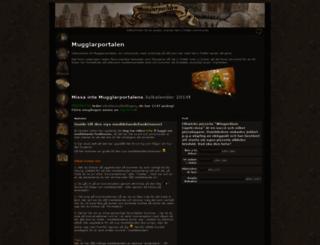 mugglarportalen.se screenshot