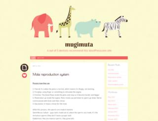 mugimuta.wordpress.com screenshot