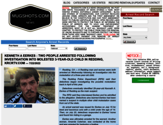 mugshots.com screenshot