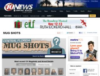 mugshots.wtsp.com screenshot