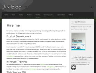 mugunthkumar.com screenshot