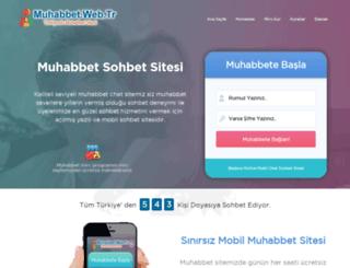muhabbet.web.tr screenshot