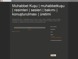 muhabbetkusu.blogspot.com screenshot