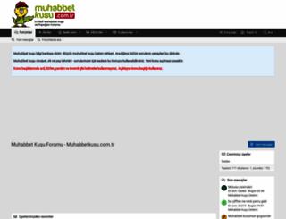muhabbetkusu.com.tr screenshot