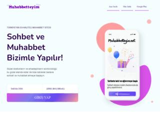 muhabbetteyim.net screenshot