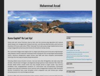 muhammadassad.wordpress.com screenshot