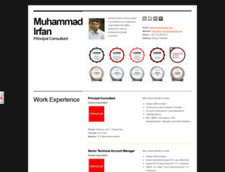 muhammadirfan.com screenshot