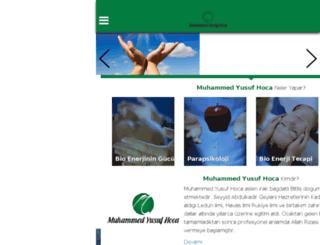 muhammedyusufhoca.net screenshot