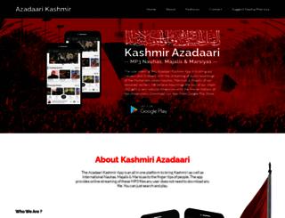 muharraminkashmir.com screenshot