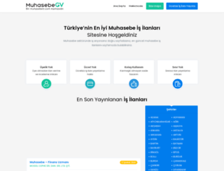 muhasebecv.com screenshot