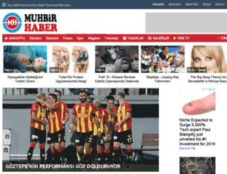 muhbirhaber.com screenshot