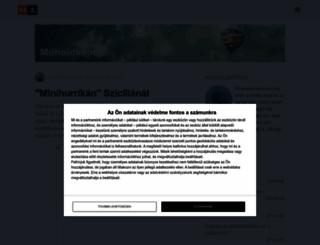muholdkepek.postr.hu screenshot