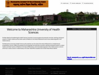 muhsonline.net screenshot