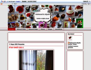 muhteremleafiyetle.blogspot.com screenshot