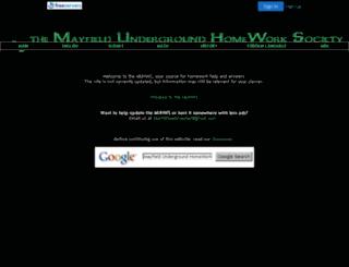 muhws.freeservers.com screenshot