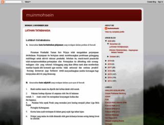 muinmohsein.blogspot.com screenshot
