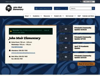 muires.seattleschools.org screenshot