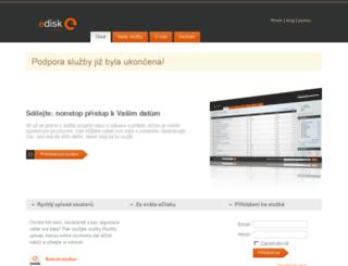 muj2.edisk.cz screenshot