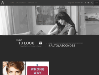 mujeralto.cl screenshot