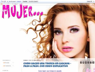 mujerayerhoysiempre.blogspot.mx screenshot