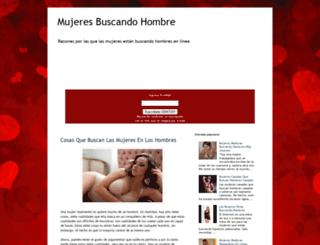 mujeresbuscandohombre.blogspot.com screenshot