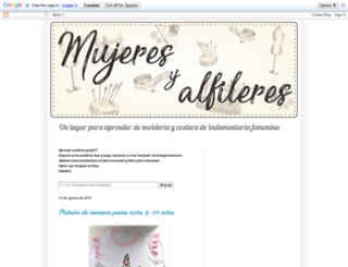 mujeresyalfileres.blogspot.com.ar screenshot