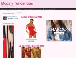 mujerropa.com.ar screenshot
