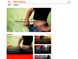 mujertendencias.blogspot.mx screenshot