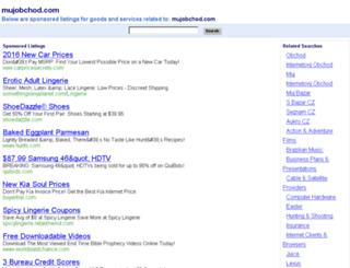 mujobchod.com screenshot