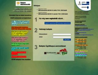mukeng.nrszh.hu screenshot