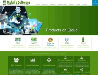 mukilssoftware.com screenshot