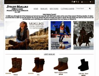 mukluks.com screenshot