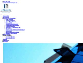 mulayimleraluminyum.com screenshot