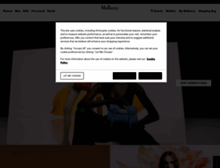 mulberry.com screenshot