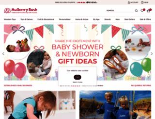 mulberrybush.co.uk screenshot