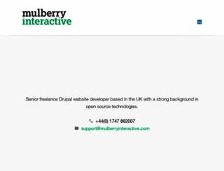 mulberryinteractive.com screenshot
