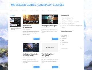 mulegend.biz screenshot