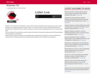 mulembefm.co.ke screenshot