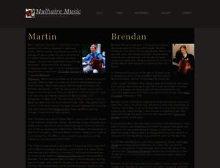 mulhairemusic.com screenshot