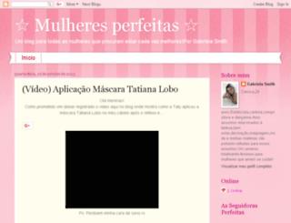 mulheresperfeitass.blogspot.com.br screenshot