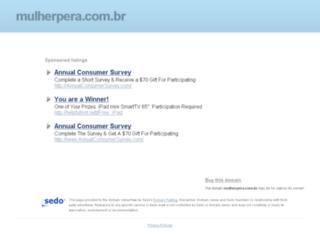 mulherpera.com.br screenshot