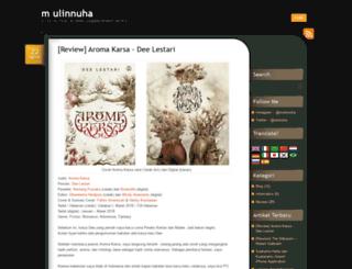mulinnuha.wordpress.com screenshot