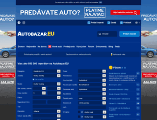 muller.autobazar.eu screenshot
